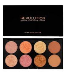 Makeup Revolution Malarz kości policzkowych Gold en Sugar II (Palette en Sugar 2 ) Gold (Palette en Sugar 2 ) Rose Gol