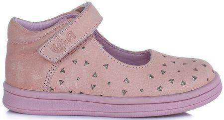Ponte 20 lány bőr balerina cipő 22 rózsaszín