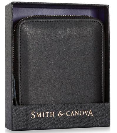 Smith & Canova fekete férfi pénztárca