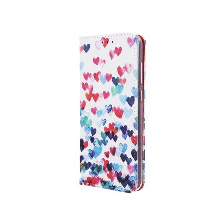 Havana preklopna torbica Samsung Galaxy A7 2018 A750 - s srčki (Hearts)