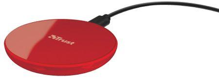 Trust ładowarka do smartfonów Primo10 Fast Wireless Charger, red 22863