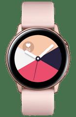 Samsung smartwatch Galaxy Watch Active, różowo-złoty (SM-R500NZDAXEZ)