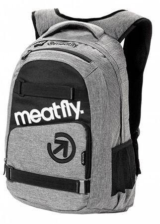MEATFLY Hátizsák Exile 3 Backpack A-Heather Grey