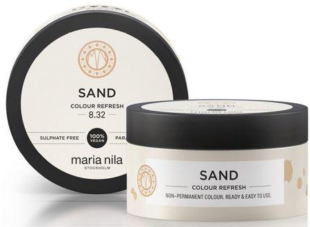 Maria Nila Miękka maseczka odżywcza bez trwałych kolorowych pigmentów Sand ( Colour Refresh Mask) (objętość 300 ml)