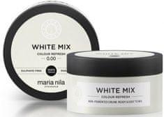 Maria Nila Vyživujúce maska bez farebných pigmentov k dotvoreniu pastelových odtieňov White ( Colour Refresh Ma