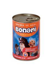 Bonami konzerva za pse, govedina in zelenjava, 400 g