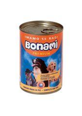 Bonami konzerva za pse, piščanec in puran, 400 g
