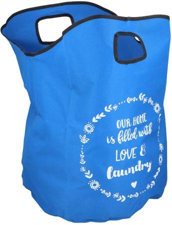 TimeLife vreča za perilo, 50 L, modra