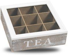 TimeLife Krabička na čaj 9 priehradiek