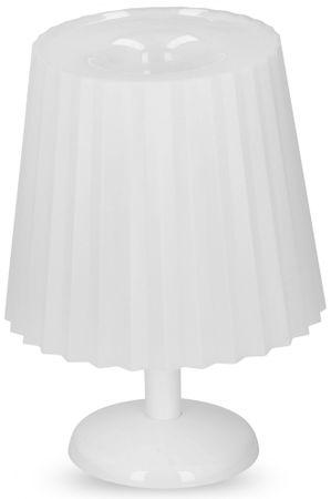 TimeLife Lampa stołowa LED Grundig 25cm, biała