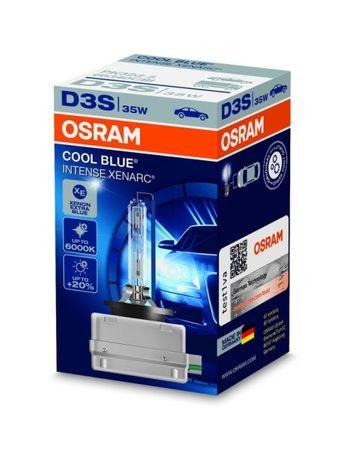 Osram Xenonová výbojka D3S, Xenarc Cool Blue Intense, 35W, PK32d-5, 1 ks