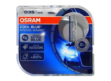 Osram Xenonová výbojka D3S, Xenarc Cool Blue Intense, 35W, PK32d-5, 2 ks