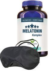 Pharma Activ Melatonín Komplex 100 tbl. + Zadarmo škraboška