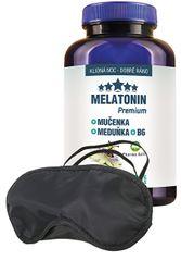 Pharma Activ Melatonín Premium Mučenka Medovka B6 100 tabliet + zadarmo škraboška