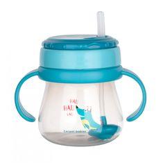 Canpol babies Sportos csésze szalmaszállal és súllyal 250ml
