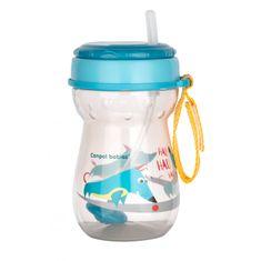 Canpol babies Sportos csésze szívószállal és súllyal 350 ml