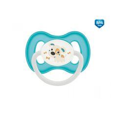 Canpol babies Szimmetrikus szilikon cumi 0-6m BUNNY & COMPANY