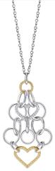 Morellato Oceľový bicolor náhrdelník Essenza SAGX02 (retiazka, prívesok)