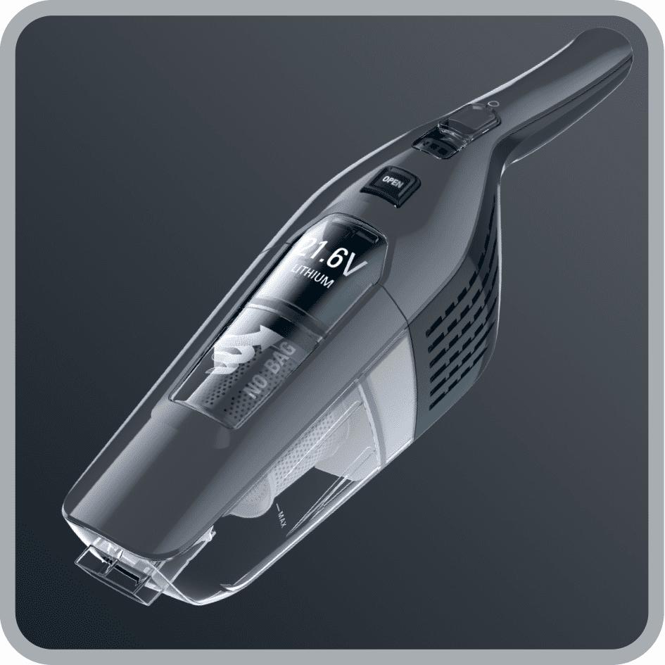 Rowenta RH6756WO Dual Force 2 az 1-ben alacsony súly, ergonomikus fogantyú