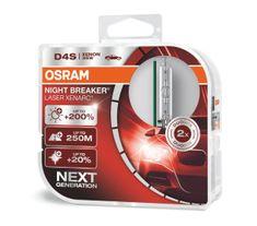 Osram Xenónová výbojka D4S, Xenarc Night Breaker Laser, 35W, P32d-5, 2 kusy