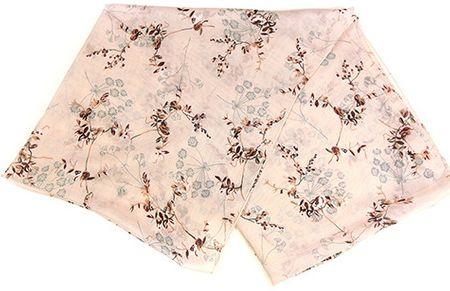 Alber Zoran dámský růžový šátek