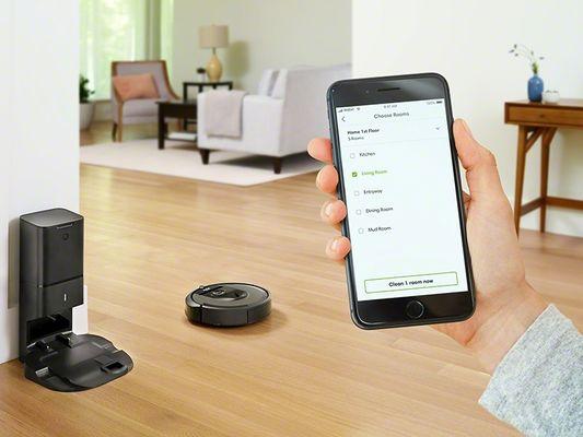 iRobot Roomba i7+ schody