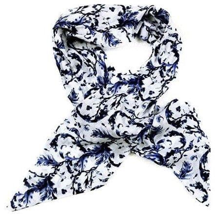 Alber Zoran női kék kendő