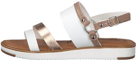 1195d18b263a Tamaris dámské sandály 36 biela - Diskusia