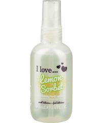 I love sprej za telo Lemon Sorbet, 100 ml