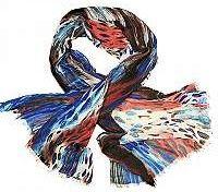 Alber Zoran dámský modrý šátek