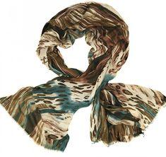 Alber Zoran dámský hnědý šátek