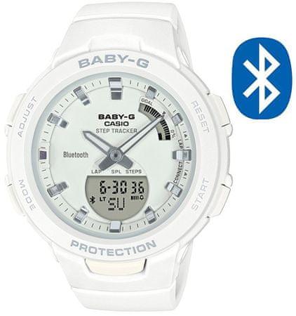 CASIO BABY-G Step Tracker Bluetooth BSA B100-7A (620)
