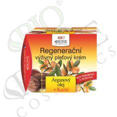 Bione Cosmetics Regenerační výživný pleťový krém Arganový olej + Karité 51 ml