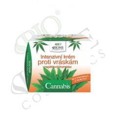 Bione Cosmetics Intenzivní krém proti vráskám Cannabis peptidový komplex 51 ml