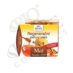 Bione Cosmetics Regeneracyjny krem do skóry z propolisem Med + Q10 51 ml