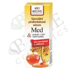 Bione Cosmetics Špeciálny protivráskové sérum s propolisom a materskou kašičkou Med + Q10 40 ml