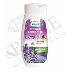 Bione Cosmetics Relaxačný sprchový gél Levandule 260 ml