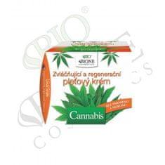 Bione Cosmetics Zvláčňující a regenerační pleťový krém Cannabis 51 ml