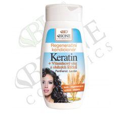 Bione Cosmetics Regenerační kondicionér Keratin + Vitamínový olej z obilných klíčků 260 ml