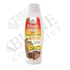 Bione Cosmetics Tápláló testápoló Arganový olej + Karité 500 ml