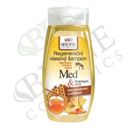 Bione Cosmetics Regeneracyjny szampon do włosów Med + Q10 260 ml