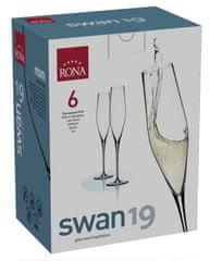 Rona Select Sklenice SWAN sekt 190 ml 6 ks