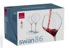 Rona Select Sklenice SWAN červené víno 860 ml