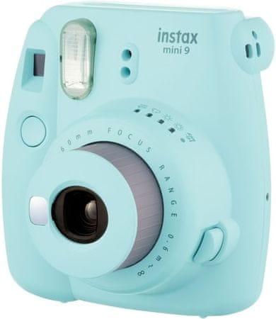 FujiFilm Instax Mini 9 Ice Blue + 10 db fényképet tartalmazó csomag + tok