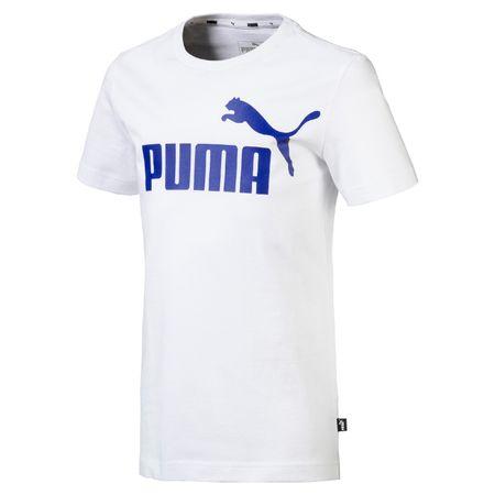 Puma koszulka chłopięca ESS logo 92 biały