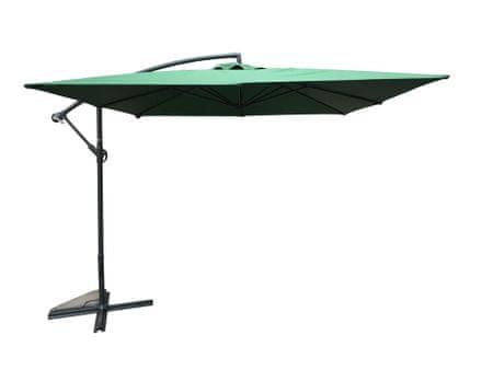 Rojaplast Slunečník 8080 (270x270cm) NEPROMOKAVÝ zelený