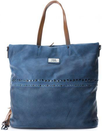 XTI ženska torbica, modra