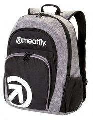 MEATFLY Plecak Vault 2 z Backpack A - Black, Heather Grey