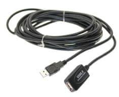 PremiumCord USB 2.0 repeater a predlžovací kábel A/MA/F 5m
