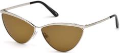 Balenciaga dámské stříbrné sluneční brýle